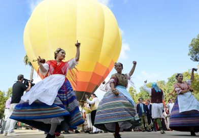 Globos aerostáticos surcando el cielo murciano y cine en el río harán histórica la Feria de Septiembre de 2018